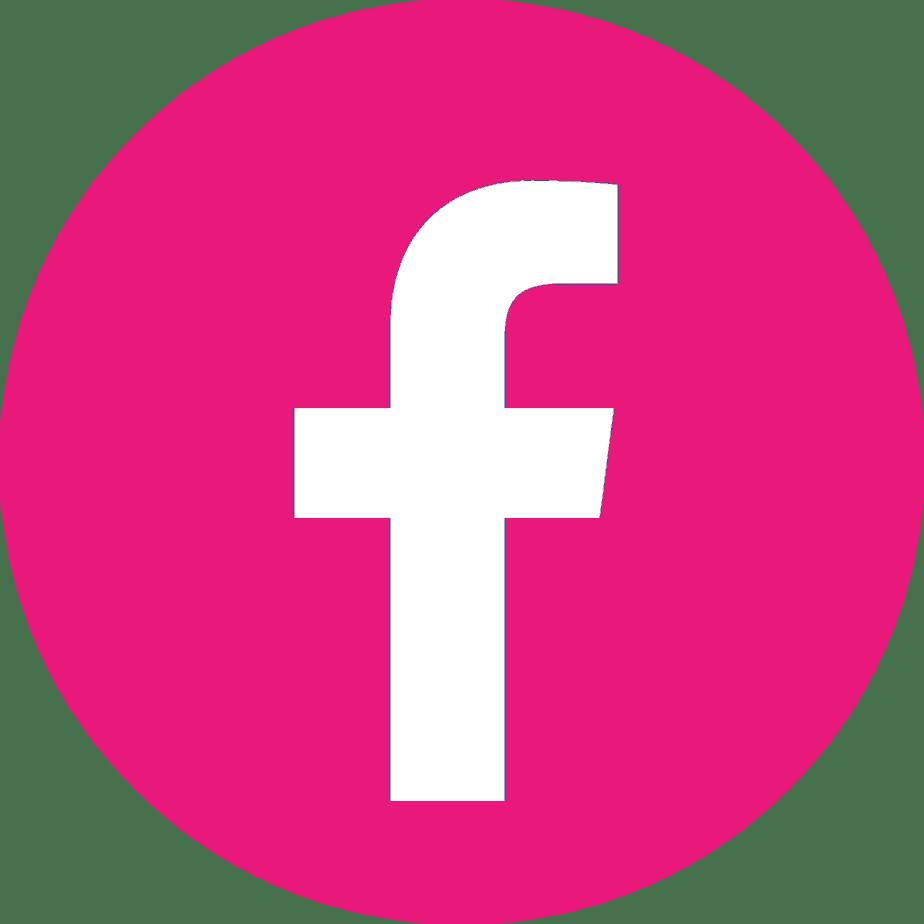 Resultado de imagen para LOGO facebook pink